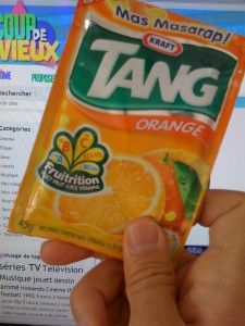 Tang ou la boisson la plus chimique du monde :) Trop dégeulasse, mais j'aimerai tellement en retrouver