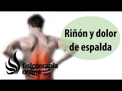 Disfunciones del Riñón y dolor de espalda, lumbar y lumbalgia. Causas y tratamiento. - YouTube