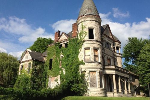 abandoned mansion | Tumblr