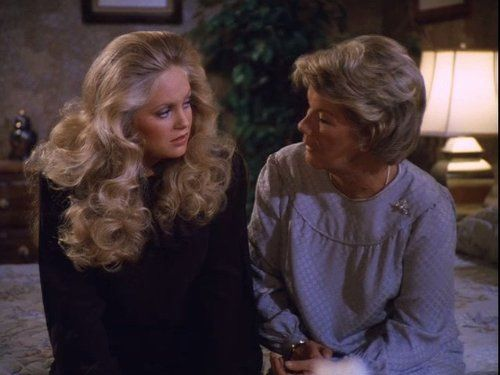 Barbara Bel Geddes and Charlene Tilton in Dallas (1978) Dallas (TV Series 1978–1991) on IMDb: Movies, TV, Celebs, and more...