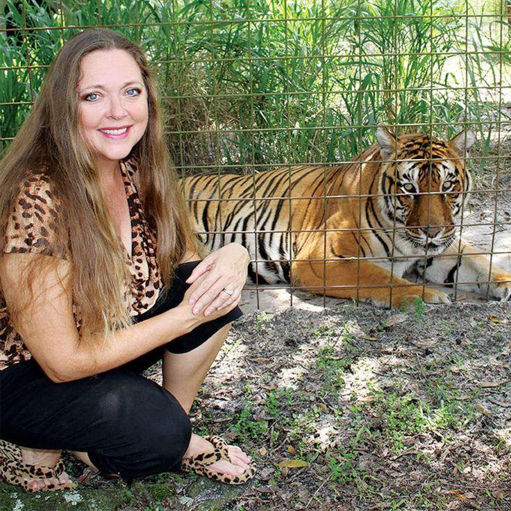 Who Is Carole Baskin, BigCat Sanctuary Founder at Center