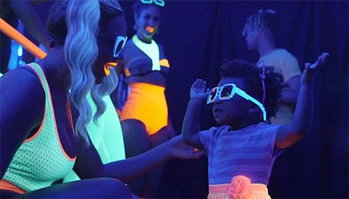 Because she became the youngest person to ever throw her hands up in blacklight room: | 21 Reasons Blue Ivy Carter Was Infinitely Cooler Than Everyone Else In 2013 malovabaywesellubid.us