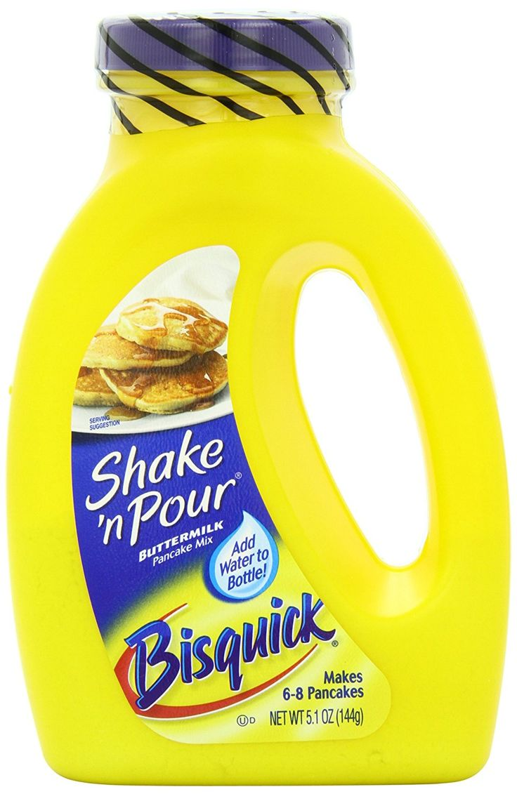 Betty Crocker Baking Bisquick Shake 'N Pour Buttermilk Pancake Mix, 5.1 Ounce -- Awesome product. Click the image