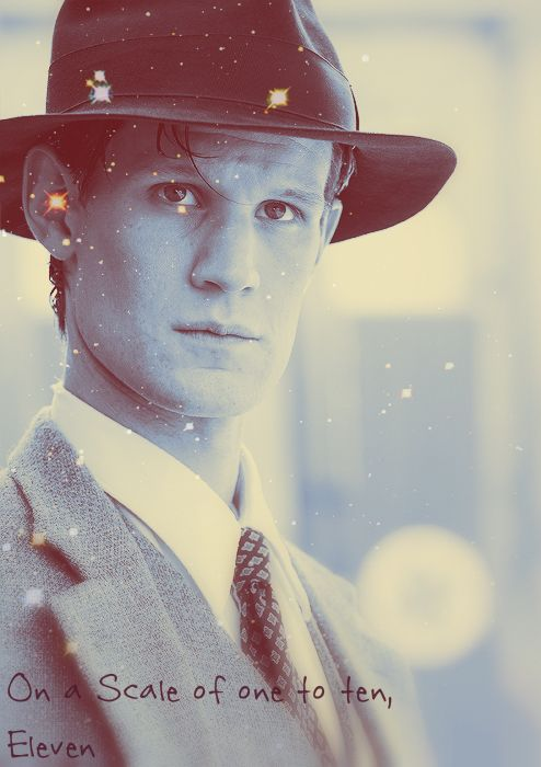 Matt Smith... I will truly miss him being The Doctor. But I have a feeling the 12th Doctor will be as splendid as the last 11 have been.