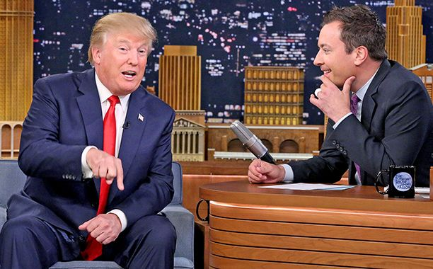 The Tonight Show: Donald Trump and Jimmy Fallon talk Kanye West, 9/11, and apologies | EW.com