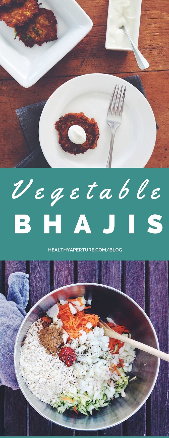 These Vegetable Bhajis are quick, easy to make and make a great appetizer or light dinner!