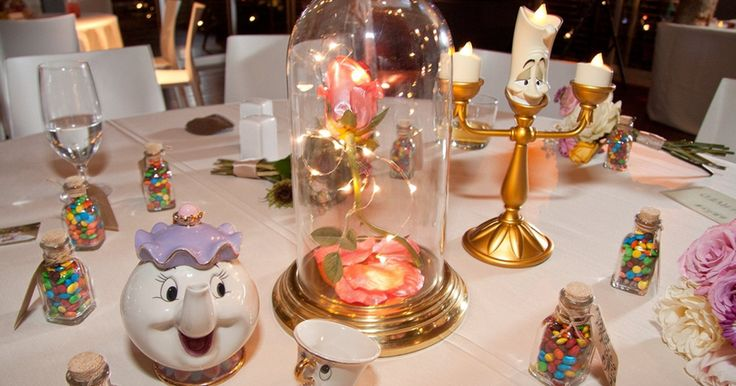 After getting engaged next to Sleeping Beauty's castle at Disneyland, Ty Junemann and Ashley Idema knew there was no better way to celebrate their wedding than with a beautiful Disney theme.