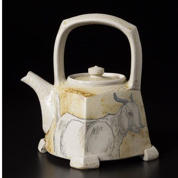 Cedar Creek Gallery National Teapot Show IX  June 6 - September 7, 2014  Over 200 Teapots by more than 160 artists.  Teapots can be viewed and purchased online beginning Sunday, June 8th at shopcedarcreek.com  Teapot shown is by Charlie Tefft Picture by Jason Dowdle