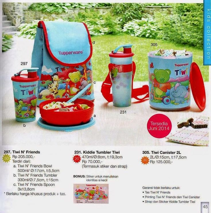 Rosa's All about Tupperware : KATALOG TUPPERWARE LUNCH EDITION