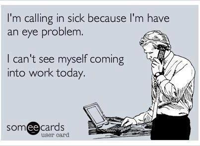 An eye problem...