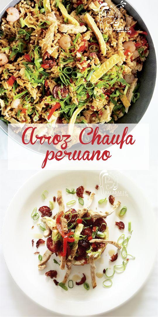 Paladares {Sabores de nati }: Arroz chaufa peruano Peruvian Cuisine, Peruvian Recipes, Delicious Vegan Recipes, Pasta Salad, Risotto, Cabbage, Healthy Eating, Cooking Recipes, Vegetables