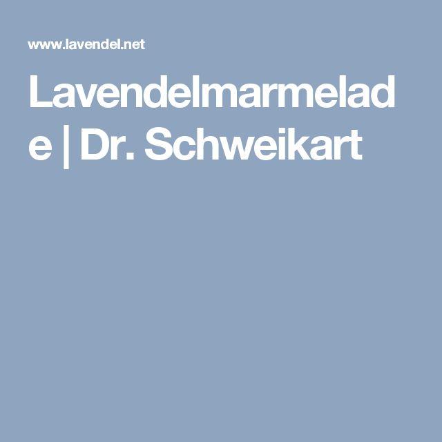 Lavendelmarmelade | Dr. Schweikart
