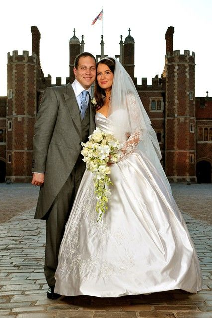 Vogue:  SEPTEMBER 2009 - Lord Freddie Windsor marries Sophie Winkleman at Hampton Court Palace in Surrey.  Photo By PA Photos