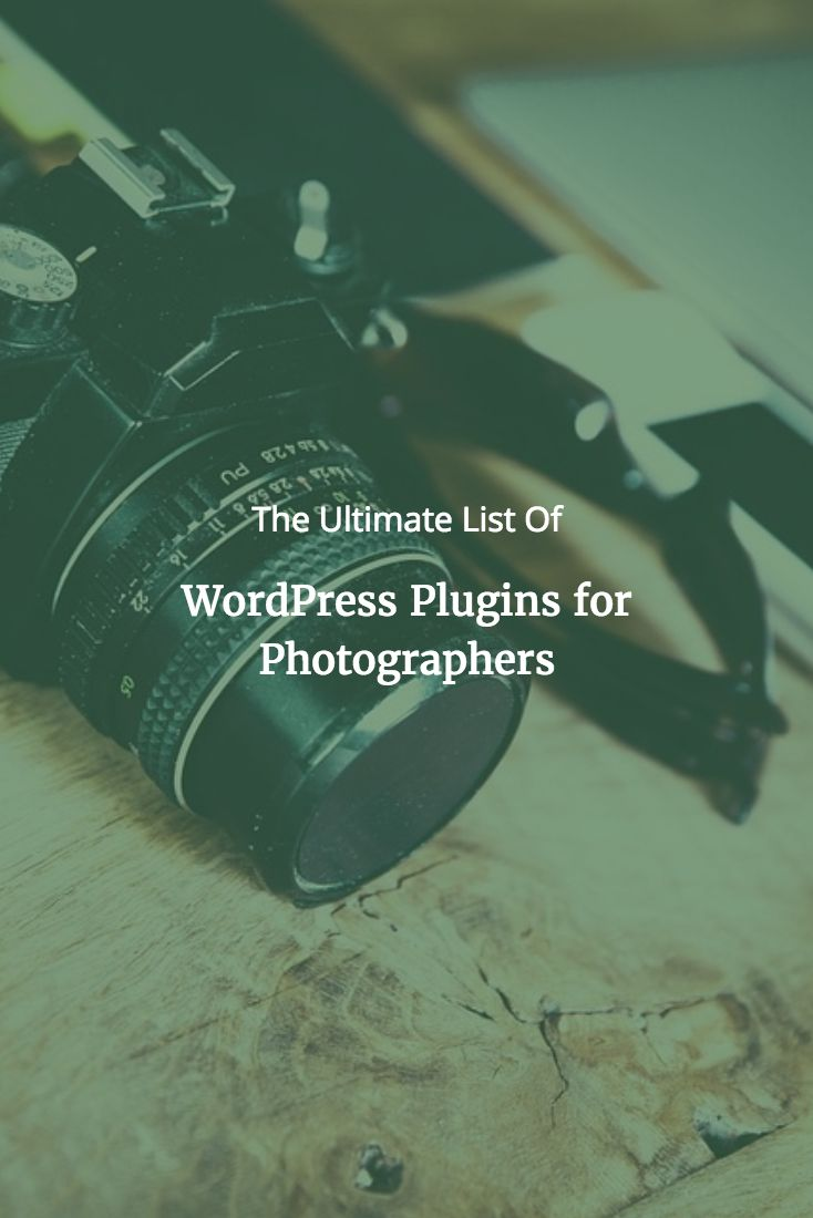 Essential WordPress Plugins For Photographers & Their Business via @scottwyden