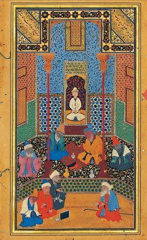Persian manuscript paintings