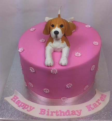 Beagle Birthday Cake by www.carryscakes.com.au