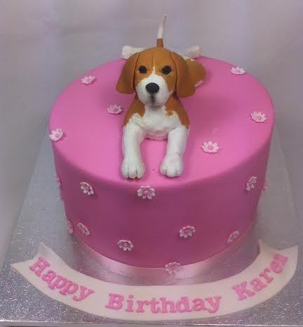 Beagle Birthday Cake by www.carryscakes.com.au