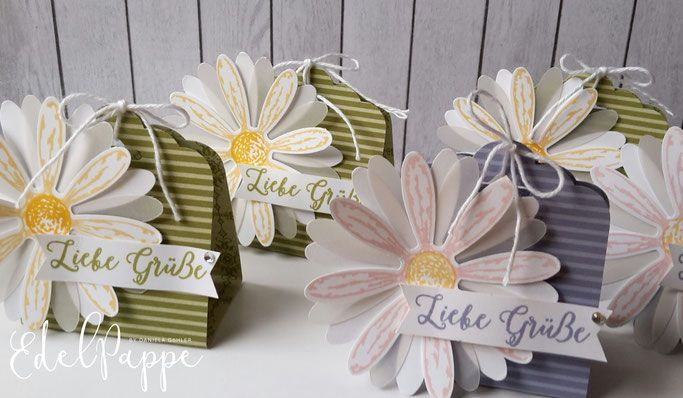 A small daisy greeting - cardboard - independent Stampin 'Up! demonstrator