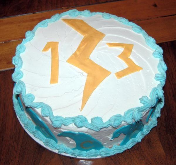 Eli's 2014 Birthday.....Percy Jackson Cake