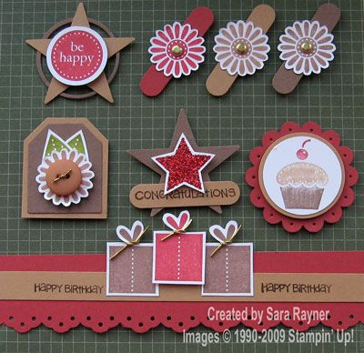 Sara Stamper - Main Page: Cringle Mingle card candy and a nite light holder