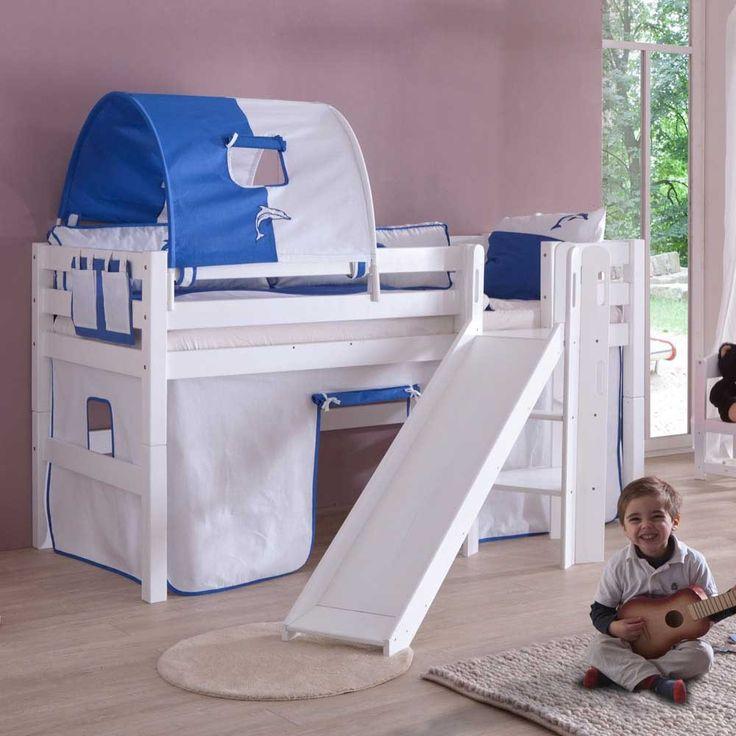 Kinderhochbett weiß mit rutsche  Die besten 25+ Hochbett mit rutsche weiß Ideen auf Pinterest ...