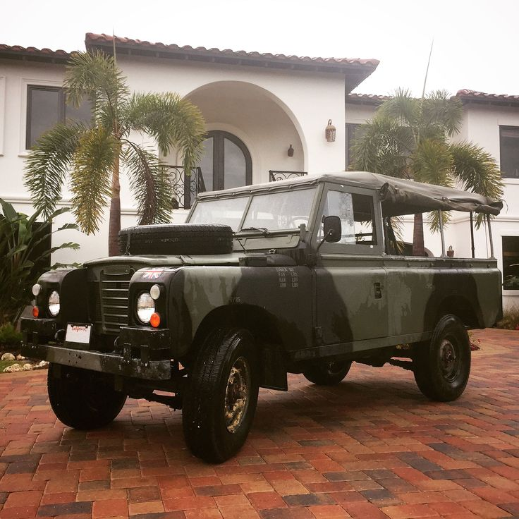 Landrover Defender Land Rover Series 109: 15 Best MOD Land Rovers Images On Pinterest