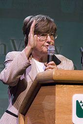 Anti-Death Penalty crusader Sister Helen Prejean in 2006.