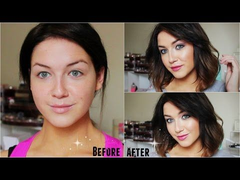 """Cool Toned Eyes & Pink Lips: Bare Minerals """"Posh Neutrals"""" READY Palette - YouTube"""