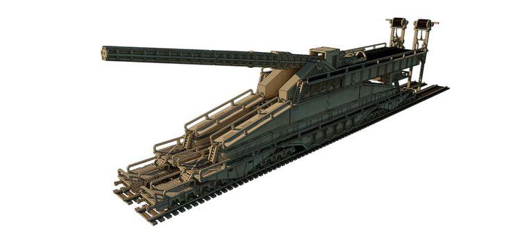 WWII Schwerer Gustav Gun