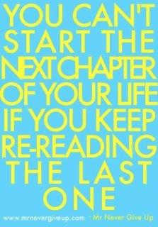 always move forward.