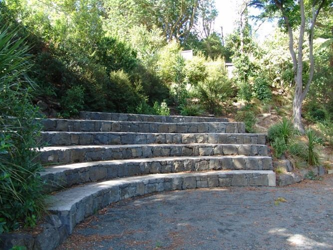 Stone Steps Seating Park Google Search Park Design Pinterest Stone Steps