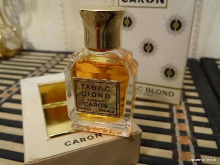 Tabac Blond Caron 4.5ml. Perfume Vintage by MyScent on Etsy