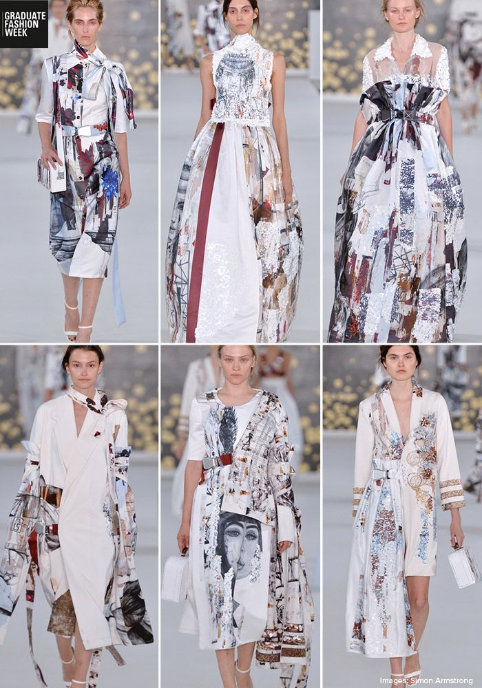 London Graduate Fashion Week 2017 – Print & Pattern Highlights - Claire Tags - UCA Rochester