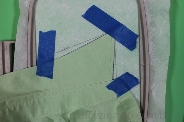 How to Embroider a Collar/Perfect Placement Software/How to sew | Nancy Zieman Blog