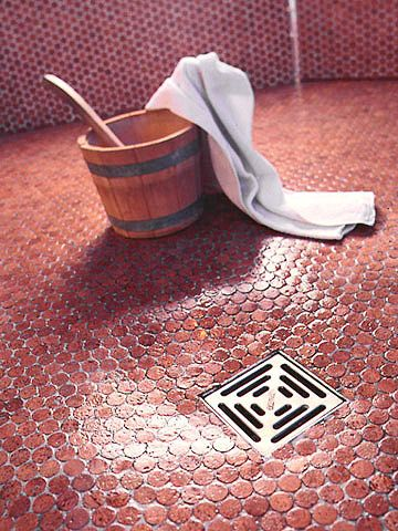 Cork Tile Flooring- This environmentally-friendly option is water resistant and can work outdoors for a great patio!