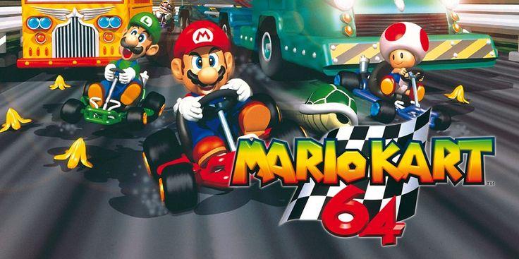 Mario Kart 64 conduit finalement à la Wii U - http://www.01news.fr/mario-kart-64-conduit-finalement-a-la-wii-u/ #MarioKart64, #MarioKart64WiiU, #Nintendo, #WiiU