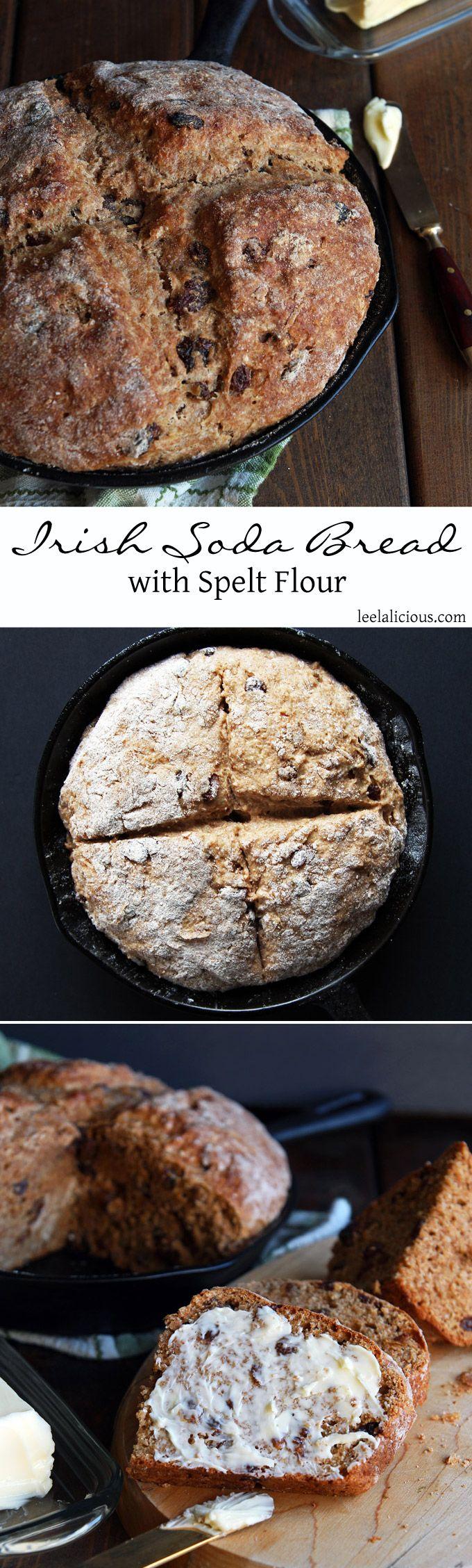 Irish Soda Bread made with Spelt Flour