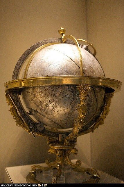 Is There Hidden Booze in That Globe?
