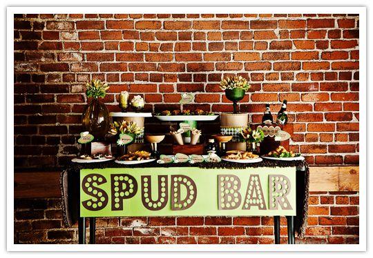 Spud bar