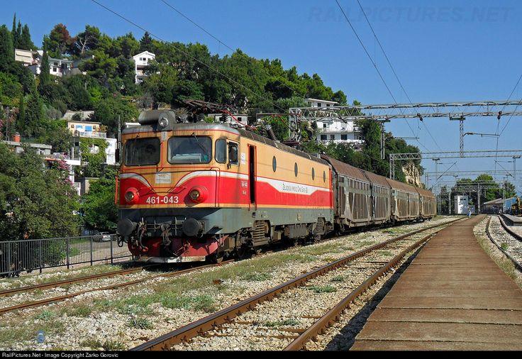 Montenegro -  RailPictures.Net Photo: 461-043 ŽPCG - Željeznički prevoz Crne Gore ŽpCG 461 at Sutomore, Serbia and Montenegro by Zarko Gorovic
