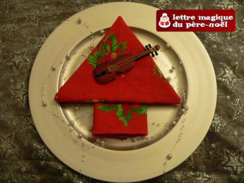 48 best images about pliage serviettes de table on - Pliage de serviette pour noel sapin ...