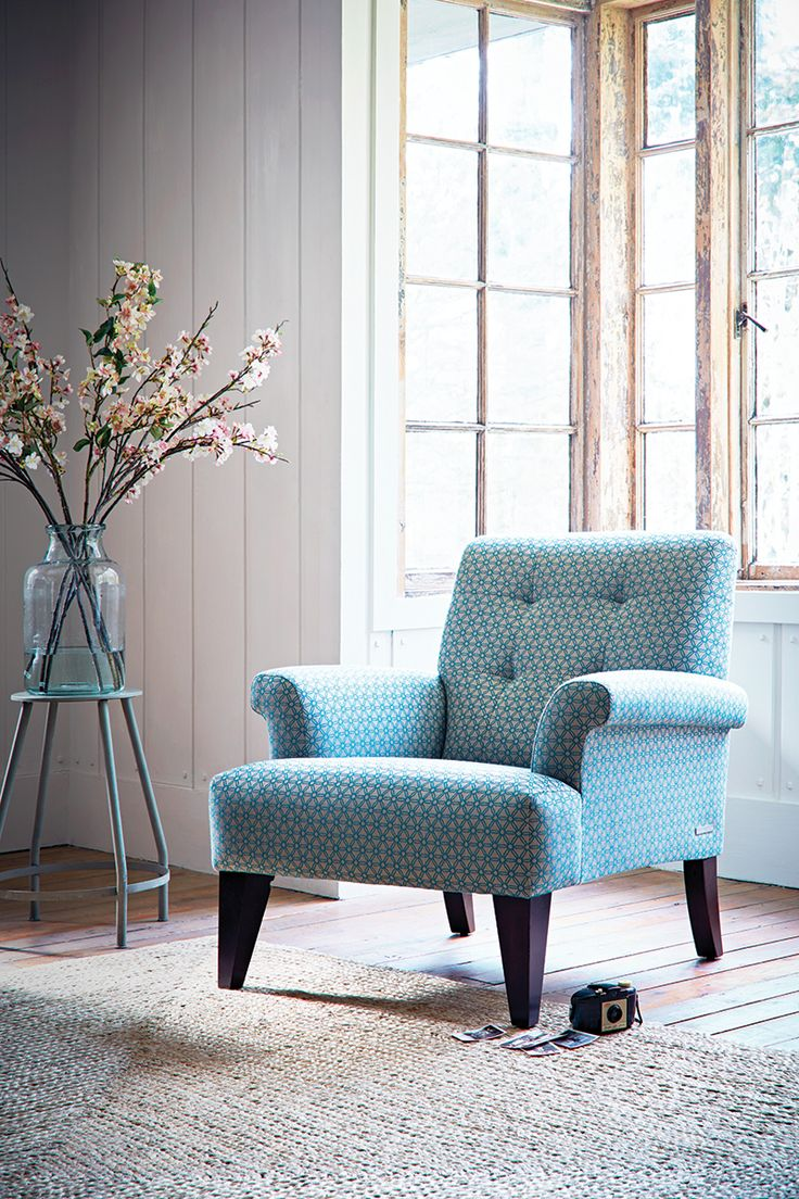 Colourful accent chairs - Jospeh Chair In Stargazer Blue Theloungeco Sofa