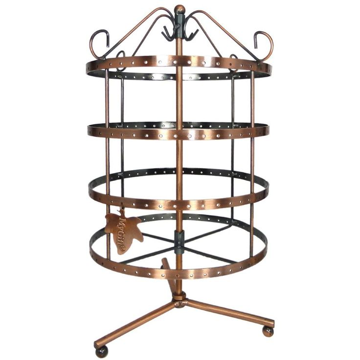 Jewelry Organizer Holder Earring Tree Display Rotating Storage Rack Stand Tower Stuff To Pinterest And