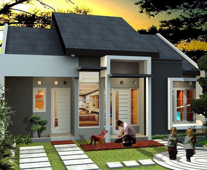 Gambar Desain Rumah Minimalis Modern yang Bagus 5