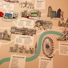 Plan de table londonien