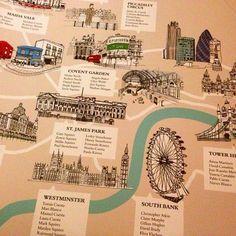 Plan de table londonien