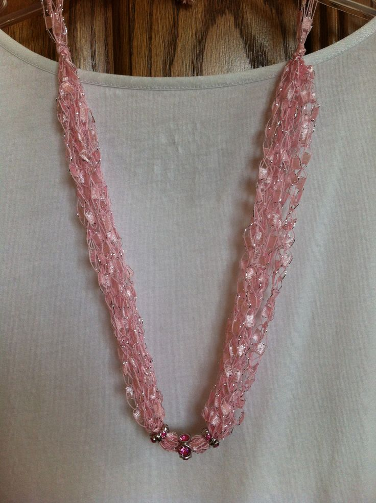 29 Best Ladder Yarn Projects Images On Pinterest Ribbon