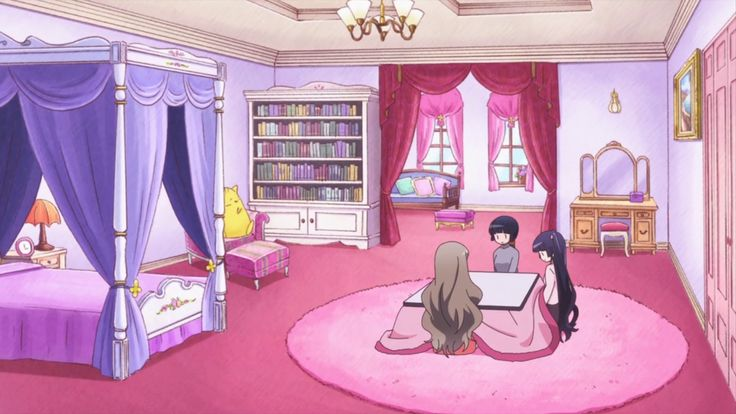 Kawaii Pastel Anime Girl Wallpaper Simple Anime Room Google Search Anime Rooms Simple