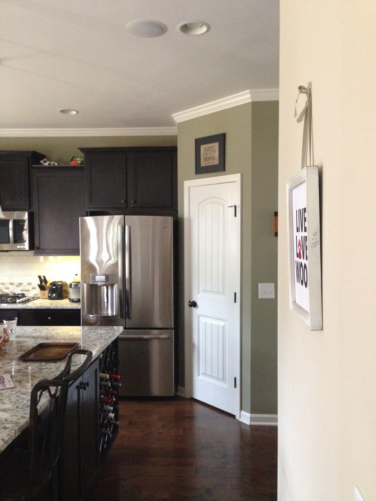 Kitchen Walls Urban Putty Accent Wall On Back Pantry