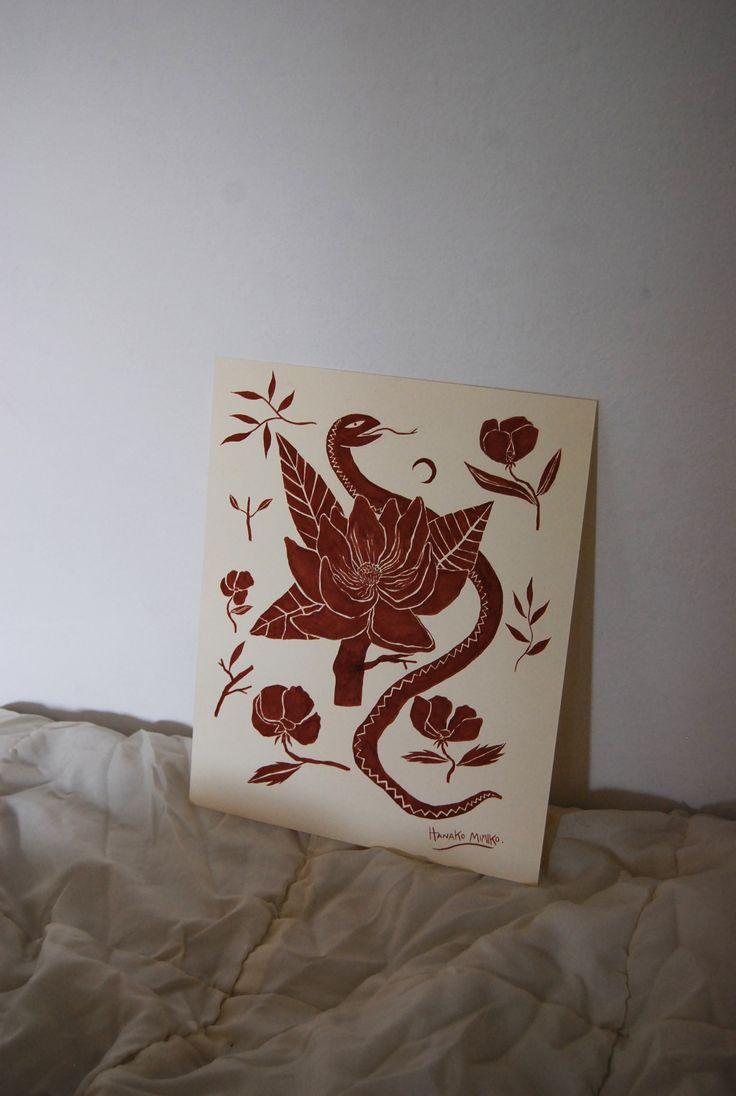 Magnolia by Hanako Mimiko